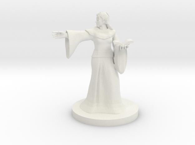 Snek Folk Warlock in White Natural Versatile Plastic