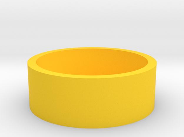 Okito Box 2 Euro in Yellow Processed Versatile Plastic