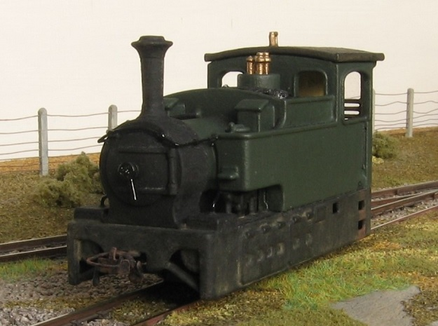 00n3 Clogher Valley Tram Engine in Smooth Fine Detail Plastic