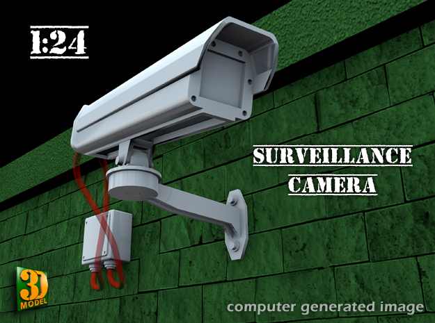 Surveillance Camera (1/24) in Frosted Ultra Detail