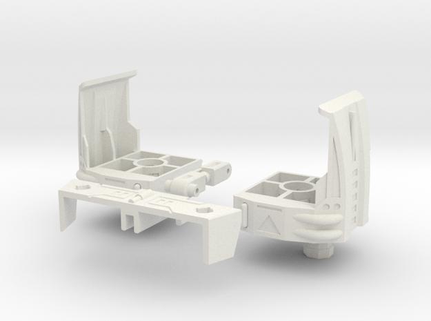 TFC Uranos Thighs Backpack Kit--rev5 in White Natural Versatile Plastic