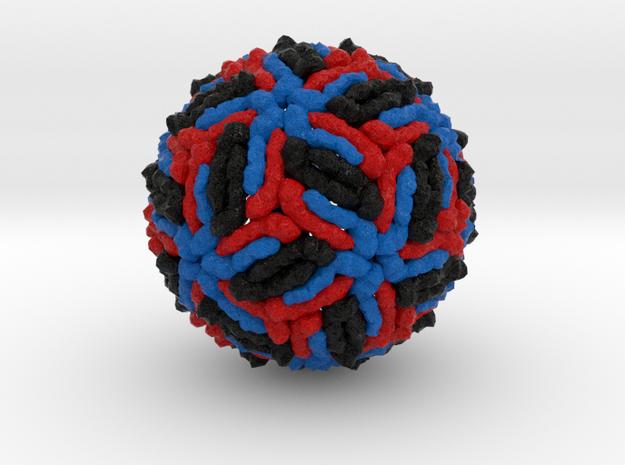 West Nile Virus in Full Color Sandstone