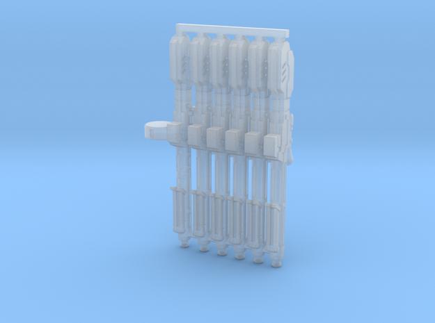 Gelgoog Machine Gun 1:400 scale in Smoothest Fine Detail Plastic
