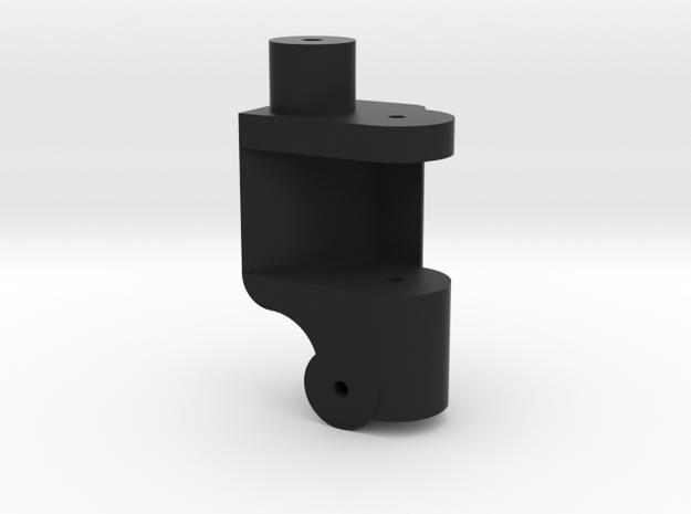 Traxxas Front Lowering Kit 0Deg Single RH in Black Natural Versatile Plastic