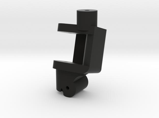 Traxxas Front Lowering Kit Neg15Deg Single LH in Black Natural Versatile Plastic