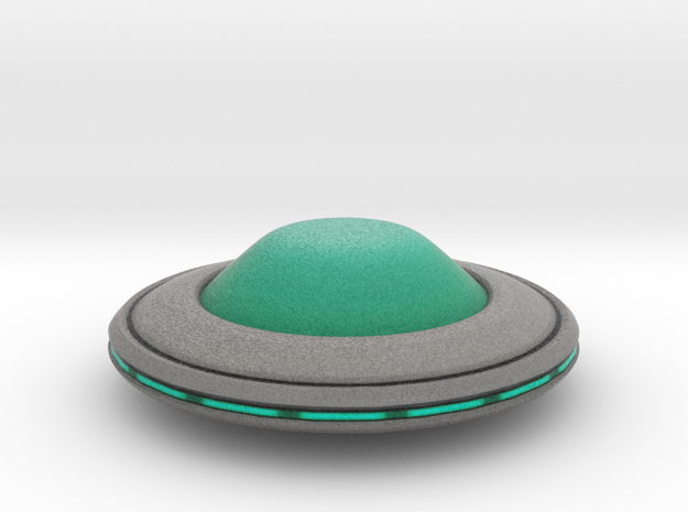Invasion Saucer in Full Color Sandstone
