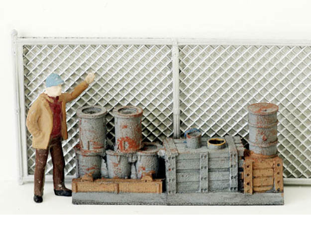 Chain Link Fencing N scale