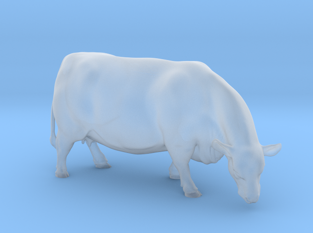 1/64 Polled Grazing Cow Right Turn in Frosted Ultra Detail