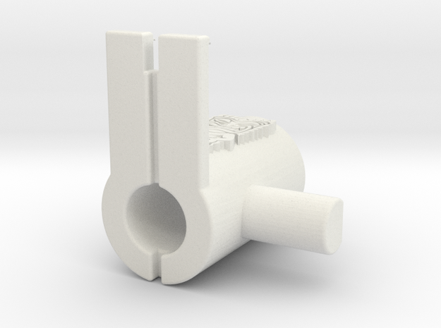 Tristand in White Natural Versatile Plastic