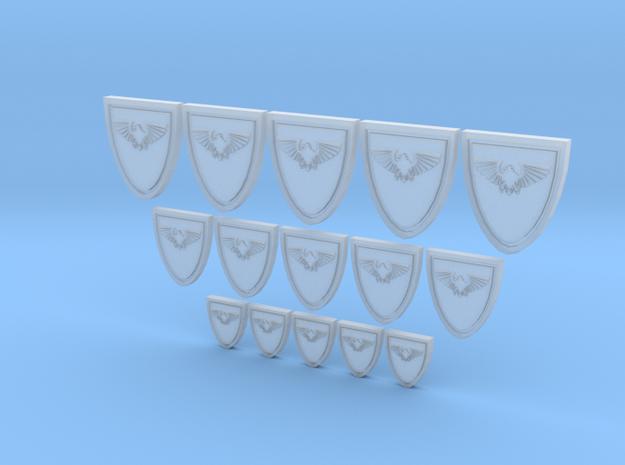 Shield Eagle - 15, 10mm, 15mm 20mm Icons