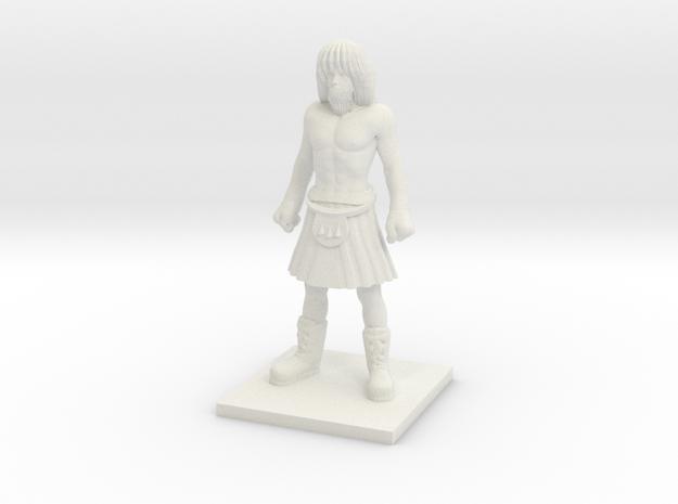 Norse 05 - Lineman in White Natural Versatile Plastic
