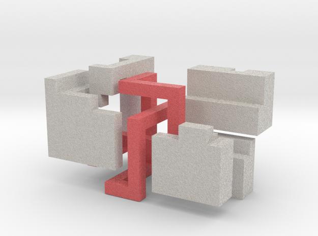 Puzzle mobius knot cube