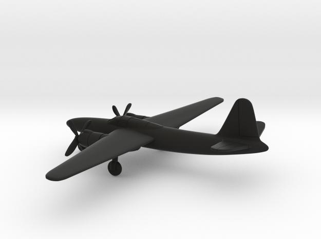 Martin XB-27 in Black Natural Versatile Plastic: 6mm