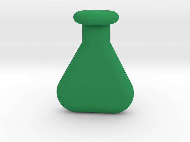 chemistry vial in Green Processed Versatile Plastic