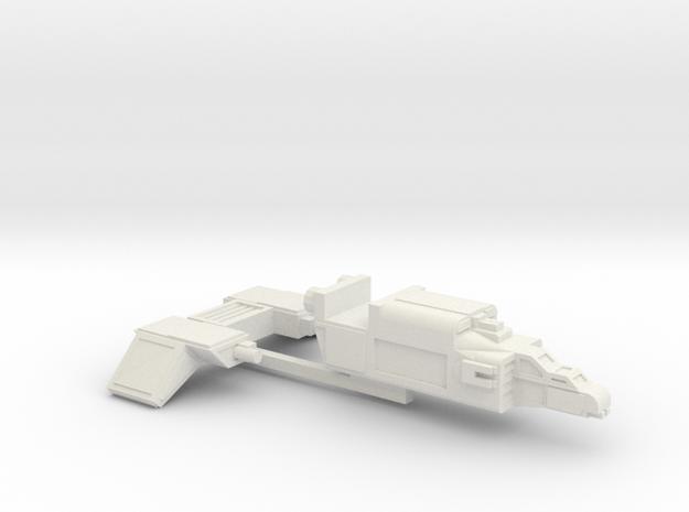 MKII Raptor Gunship (wings separate) in White Natural Versatile Plastic