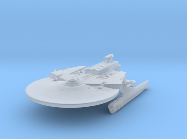 Federation Soyuz Class Medium Cruiser 1:7000 in Smooth Fine Detail Plastic