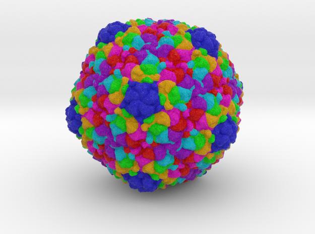 Salmonella Bacteriophage ε15 in Full Color Sandstone