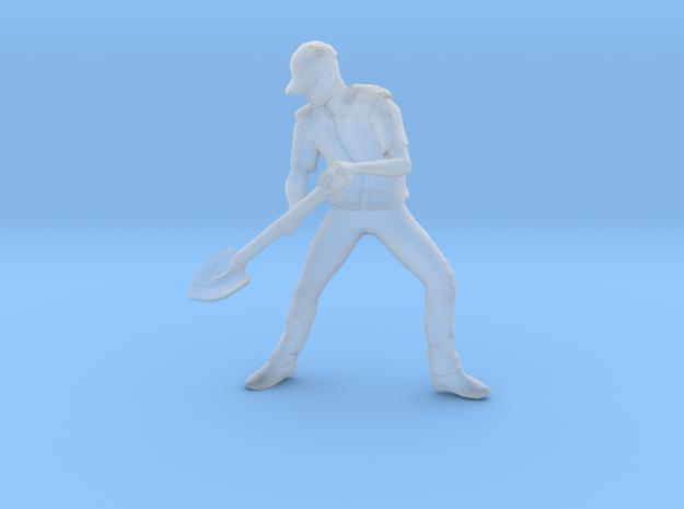 Shoveling Steve in Smoothest Fine Detail Plastic: 1:64 - S