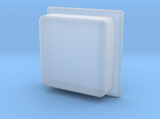 Piro Mod Toot Floot Button in Smoothest Fine Detail Plastic