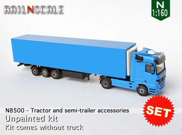 SET Tractor and semi-trailer accessories (N 1:160)