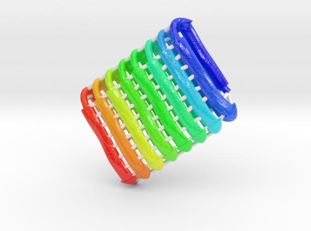 β-Solenoid Protein in Glossy Full Color Sandstone