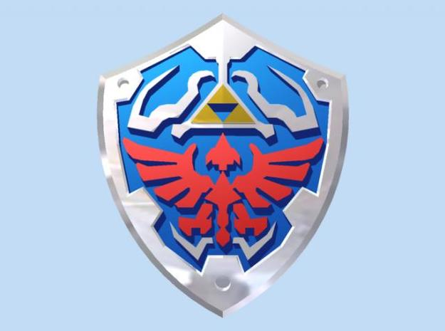Royal Shield II 3d printed Render