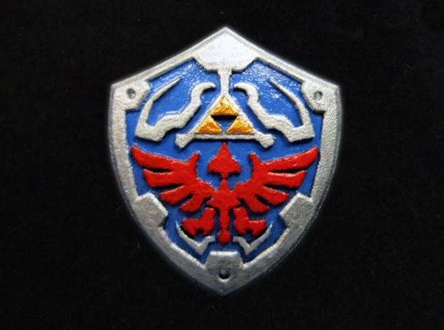 Royal Shield II in Smooth Fine Detail Plastic