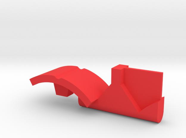 Warthog throttle part - center detent in Red Processed Versatile Plastic