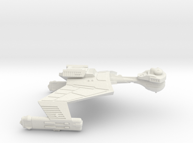 3125 Scale Klingon SD7K Strike Cruiser WEM in White Natural Versatile Plastic