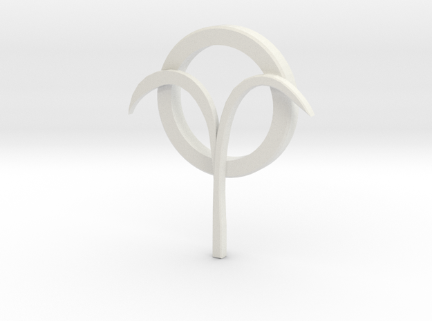 Jancarus Logo in White Strong & Flexible: Extra Small