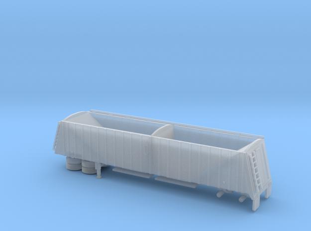 1/120 42' Semi Grain Trailer Kit in Smooth Fine Detail Plastic