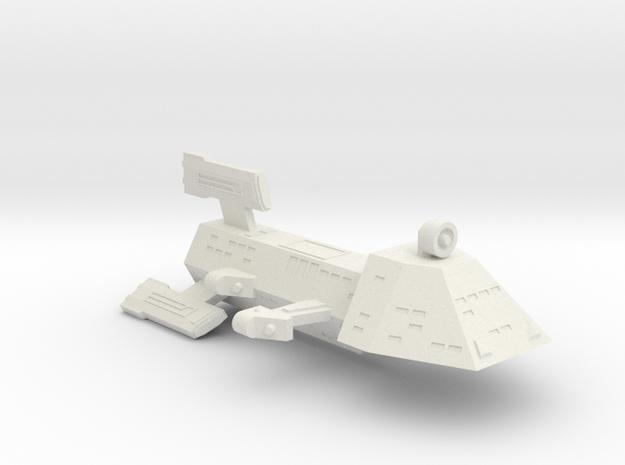 3788 Scale Kzinti Destroyer (DD) SRZ in White Natural Versatile Plastic