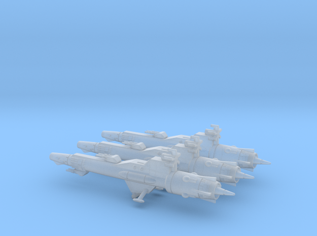 Geary Destroyer Squadron (56mm) in Smooth Fine Detail Plastic