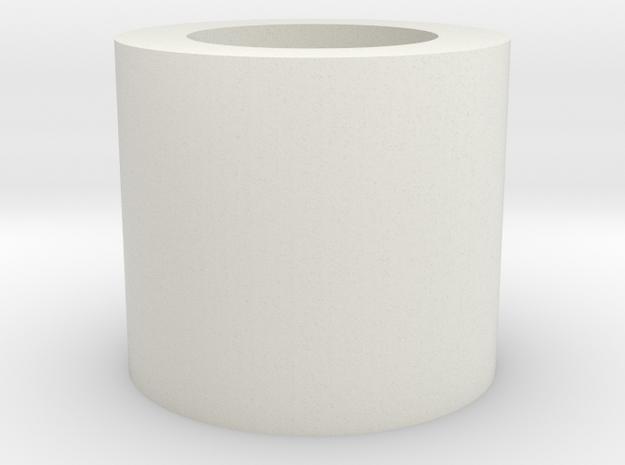 "Neopixel Hilt Plug 1"" KR V2 in White Natural Versatile Plastic"