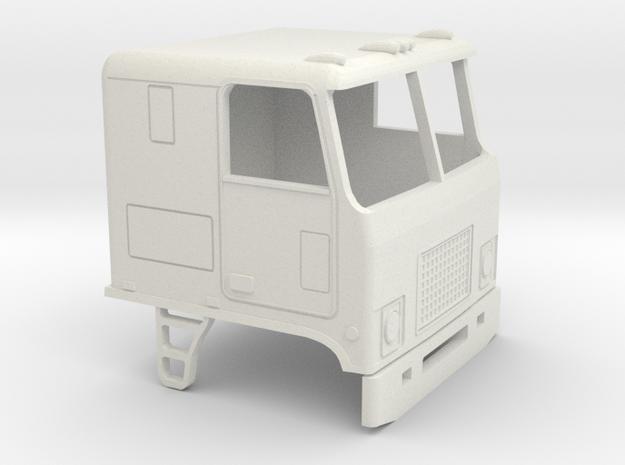 1/50 1968-80 GMC Astro-Chevrolet Titan cab in White Natural Versatile Plastic