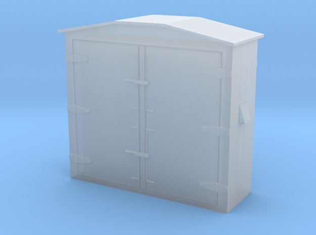 12 Way Relay Box in Smooth Fine Detail Plastic