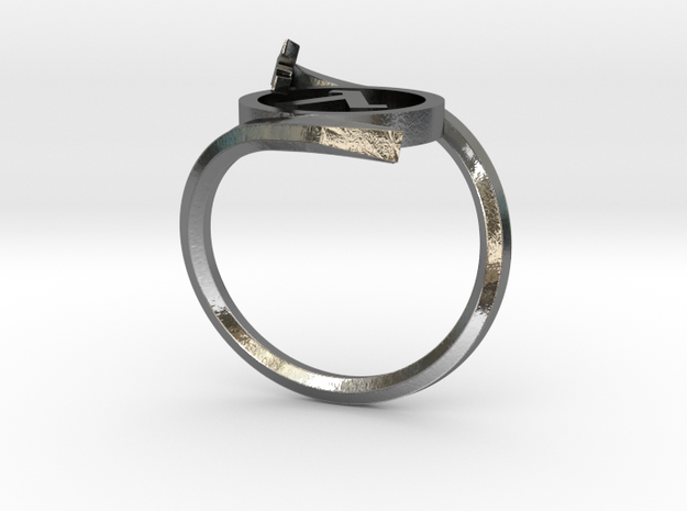 Half-life Ring in Polished Silver: 6.5 / 52.75