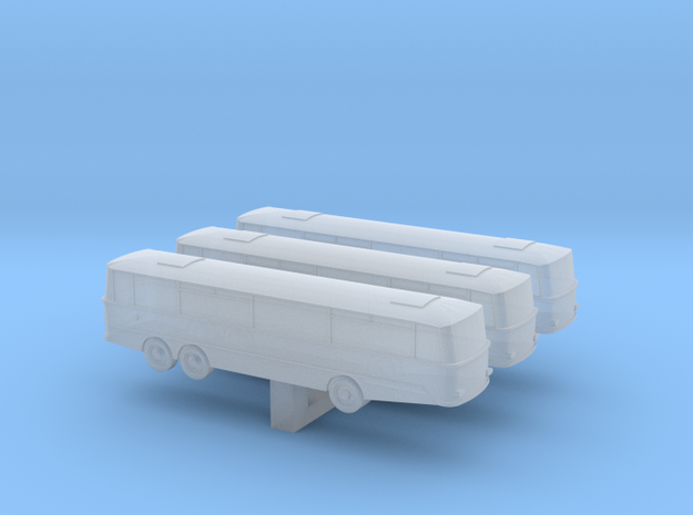 (1:450) Bus in Smooth Fine Detail Plastic