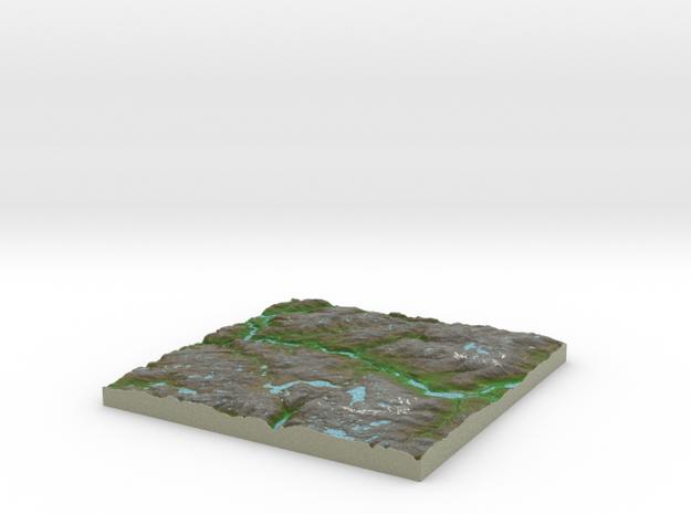 Terrafab generated model Sun Aug 20 2017 22:45:53  in Full Color Sandstone