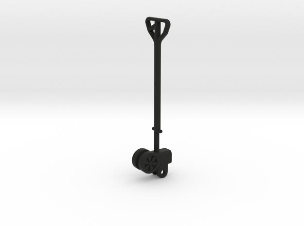 Hubwagen Teil 2von2 in Black Natural Versatile Plastic