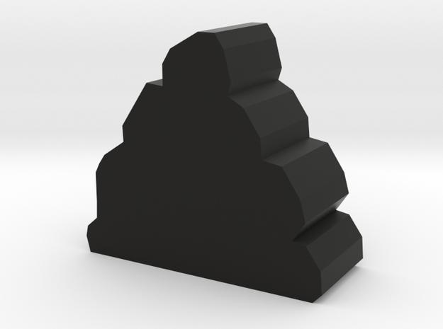 Game Piece, Ore in Black Natural Versatile Plastic