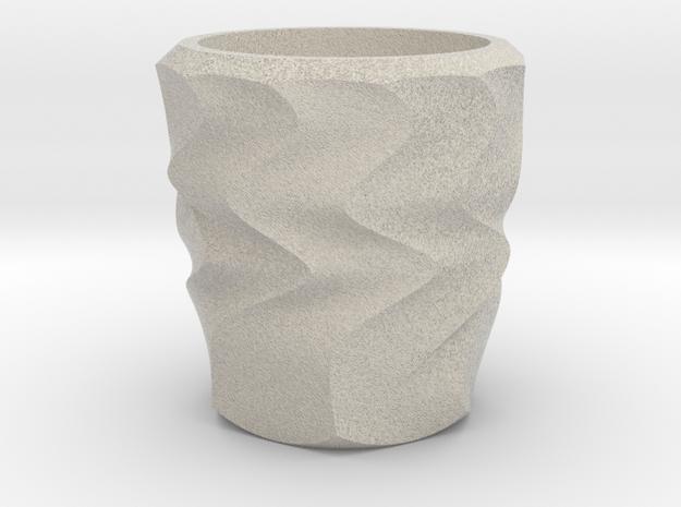 Shot Glass 2(Porcelian) in Sandstone