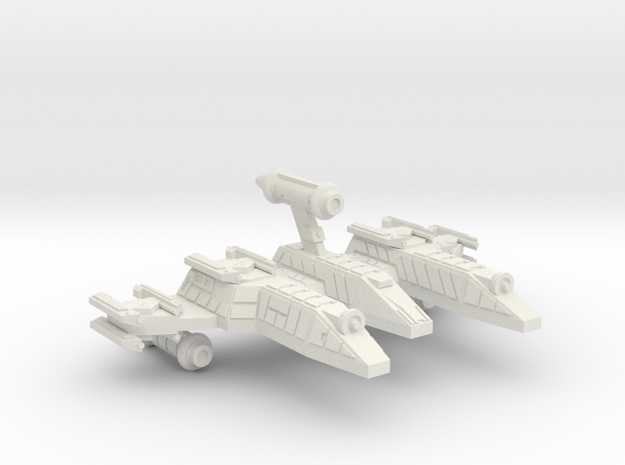 3125 Scale Lyran War PF/Gunboat Tender CVN in White Strong & Flexible