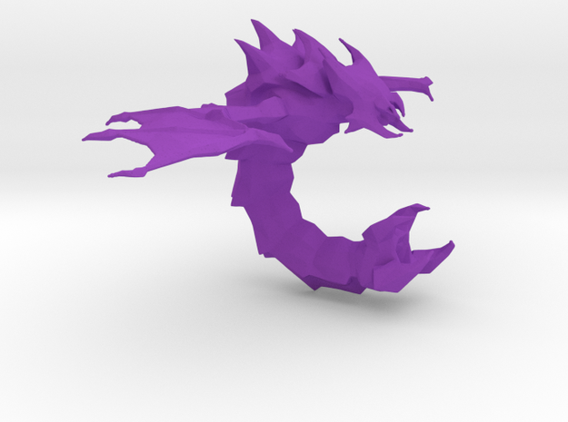 SC2 - Mutalisk in Purple Strong & Flexible Polished