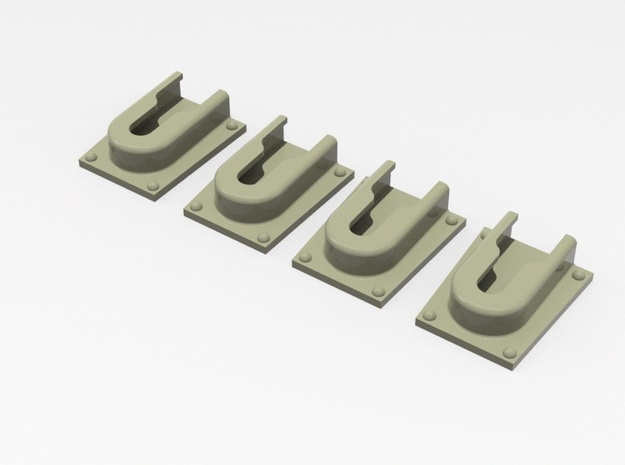 1.8 SYSTEMES ATTACHES in Smooth Fine Detail Plastic
