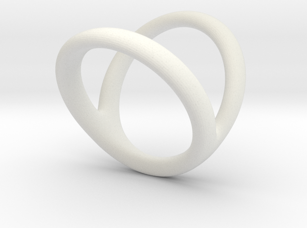 Ring 1 for fergacookie D1 3 D2 4 Len 180 in White Natural Versatile Plastic