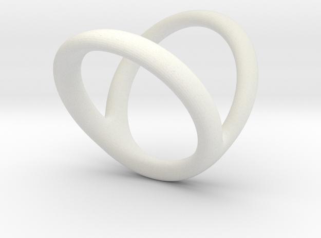 Ring 2 for fergacookie D1 2 1-2 D2 3 1-2 Len 20 in White Natural Versatile Plastic
