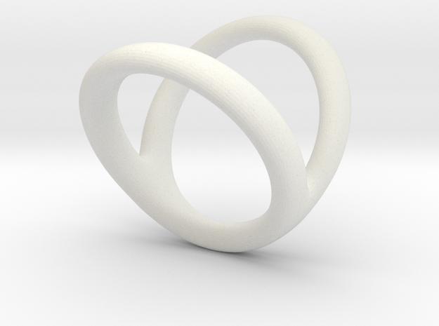 Ring 3 for fergacookie D1 1 1-2 D2 3 Len 17 in White Natural Versatile Plastic