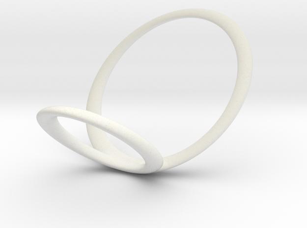 ring 8 for fergacookie_w in White Natural Versatile Plastic