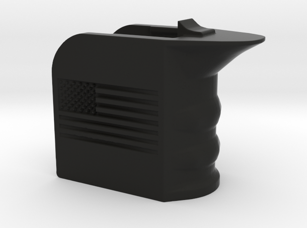 M4/AR15 Magwell Grip With United States Flag in Black Strong & Flexible